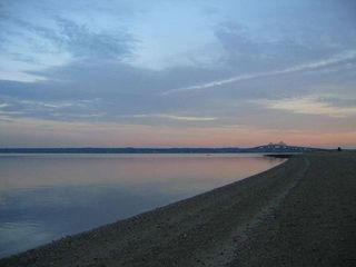 North Kingstown house photo - Our private beach at sunset
