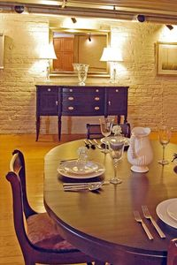Savannah condo rental - Dining Area - Silverware, Glassware, China, and Serving Pieces provided