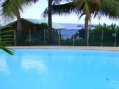Seasonal rental of high standard apartment in Bouillante, Guadeloupe