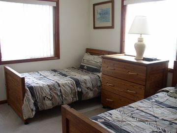 One of Two Identical Twin Bedrooms