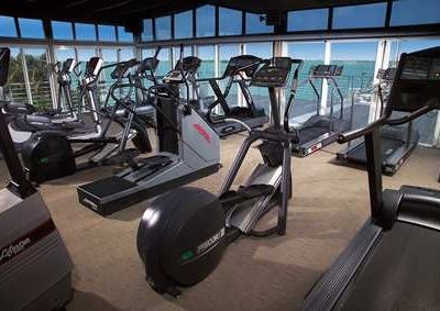 State of the art gym with spectacular views!