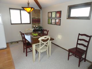 Hedgesville cottage photo - Separate dining area seats up to 6