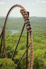 Branson cabin photo - Silver Dollar City & White Water offer thrilling amusement rides. Photo BCC