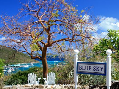 Fantastic view overlooking Red Hook, St. John and the British Virgin Islands
