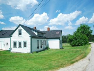 Lamoine farmhouse photo - from the street