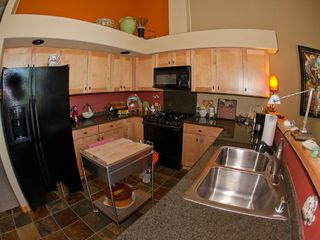 Tahoe Donner condo photo - Fully-equipped kitchen with granite countertops and plenty of space to whip up something delicious.