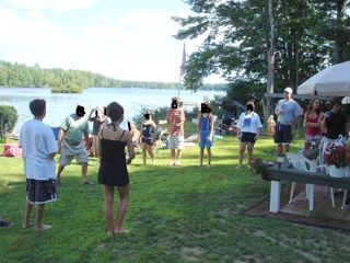 Barrington house photo - Family reunions with plenty of games
