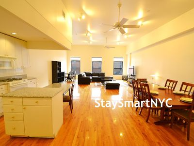 Murray Hill apartment rental - Apt #3FL - Living Room + Dining Area