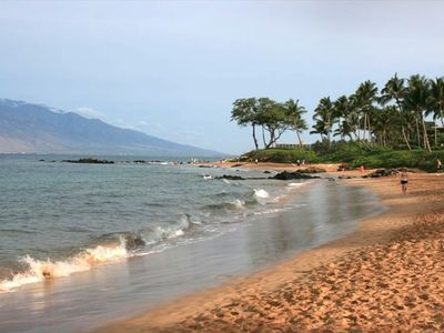Take a short walk to Ulua Beach where you can swim and snorkel.