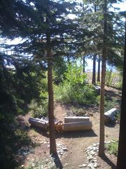 Carnelian Bay cabin photo - Lakeshore area seen from upstairs in Lakeside