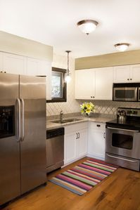 Our bright and happy kitchen!
