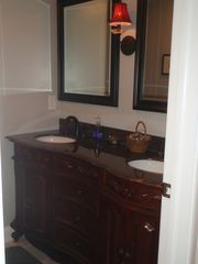 East Hampton house photo - Lower level bathroom pic 1