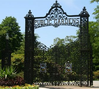 Public Gardens, established 1867, around the corner from The Heritage