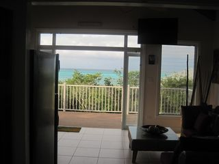 Long Island villa photo - .view from the bedroom thru the french double doors