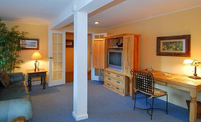 Family Room w/TV - Lower level   Breckenridge vacation rental property