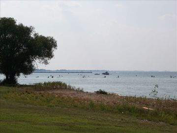 Port Clinton condo rental - View of Lake Erie from the 2nd Floor Lanai