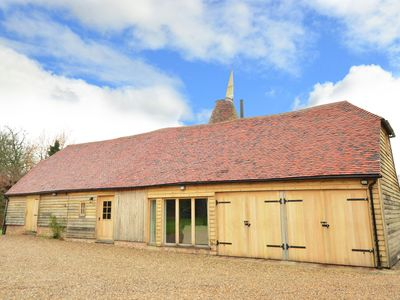 A truly stunning oast house conversion in the grounds of an ancient Manor House.