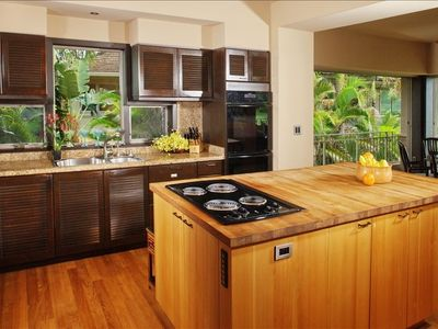 New Kitchen Appliances and Teak Butcher-Block Counters