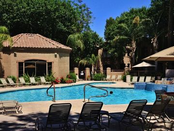 Scottsdale North condo rental - Signature in Scottsdale has 2 resort-style pools with ramadas, BBQ grills, and numerous other great amenities!