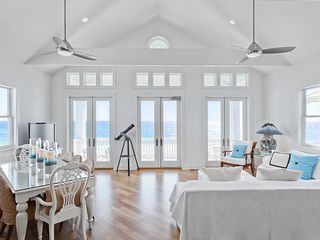 Rosemary Beach house photo - MAIN--One of Our Gulf-Front Porches & Great Room