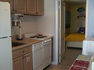 Wildwood Crest condo photo - Full Kitchen with Oven and Dishwasher