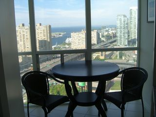 Toronto condo photo - Table with a view...!