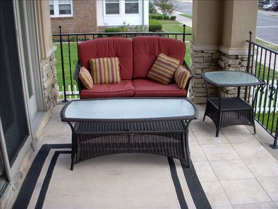 Additional porch seating