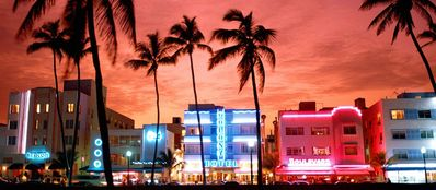 South beach night life is a must to experience.