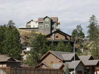 Penticton house photo - view from street below