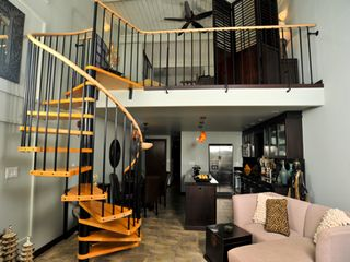 Napili condo photo - An open design--down to even the spiral staircase--creates a bright, airy space.