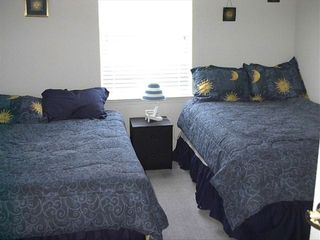 Rehoboth Beach condo photo - This room has two double beds. Great for kids.