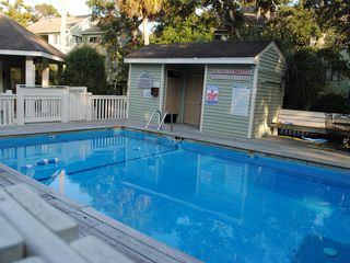 Bald Head Island condo photo - private pool just for the use of royal james residents, also has a private grill