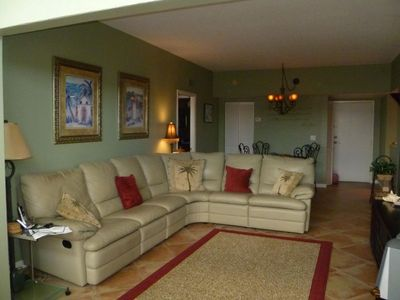 Our cozy comfortable Family Room....