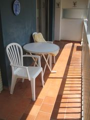 Fuengirola apartment photo - Balcony - sun all afternoon.