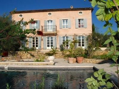Beautiful villa with character, charming, pool, near Grasse Valbonne