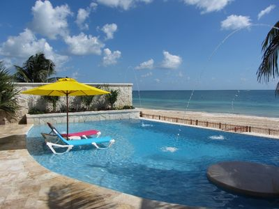 Beachfront 5BR/ 5.5BA/Private Infinity Pool/Rooftop Deck/Walk to the Town Square
