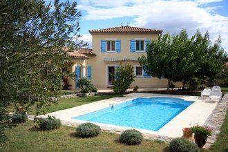 Detached house on the heights of Anduze.