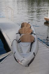 Lake Arrowhead house photo - 3 seat Ocean Kayak