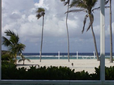 Grand Cayman condo rental - The play of sea and clouds.