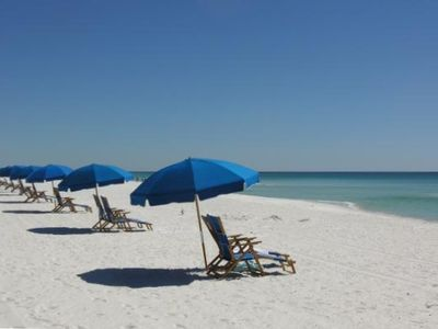 White Sand Beach with available Beach Service