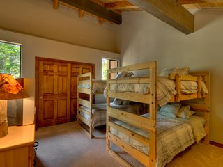 Carnelian Bay townhome photo - Loft bedroom w/4 twin beds (2 bunk sets)