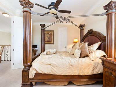 Beautiful 4 poster Master suite