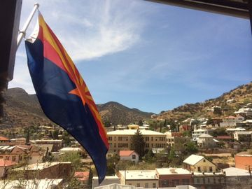 Bisbee house rental - View from our balcony