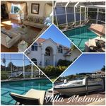 VILLA MELANIE in the south of Cape Coral, top location, Gulf access, boat lift