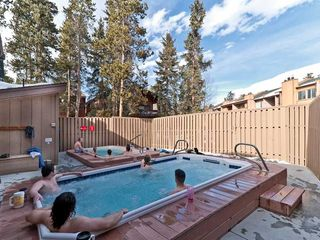 Breckenridge condo photo - 2 outdoor and 2 indoor hottubs - Times listed on our website.