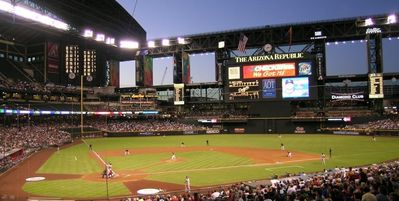 Chase Field (aka The BOB) Home of the AZ Diamondbacks Baseball Team - 25 min