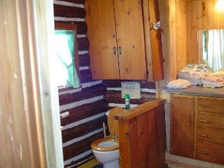 Gaylord cabin photo - full bath