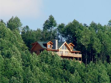 Bostic cabin rental - SMOKEY'S DEN perched on the Mountain Top