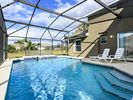 Extra lage and deep heated pool with spa - Westridge house vacation rental photo