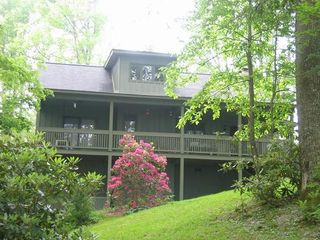Blowing Rock cottage photo - The Rear View of 'The Crest'